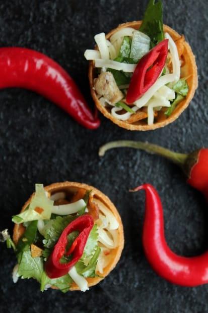 Sulassa sovussa: suppikset ja chili.