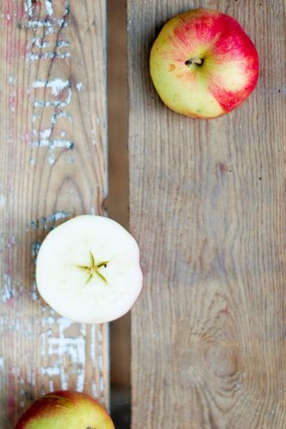 Onnelliset omenat.