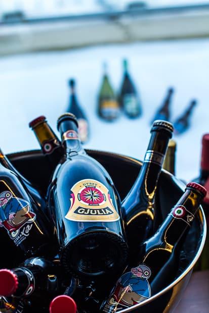 ..ja todella hyvää olutta. Italiasta?!?