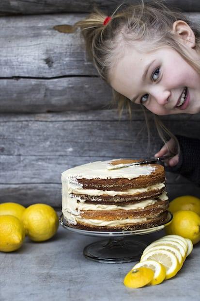 Kevään keltaisin kakku.