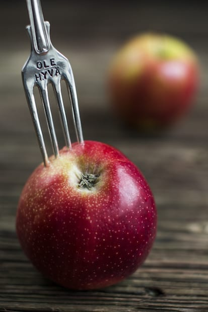 Omenasta monenmoista herkkua.