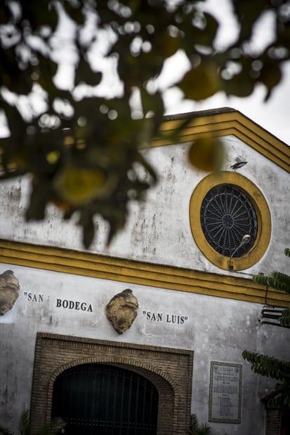 Kulunut bodegas oli merkki maukkaasta manzanillasta.