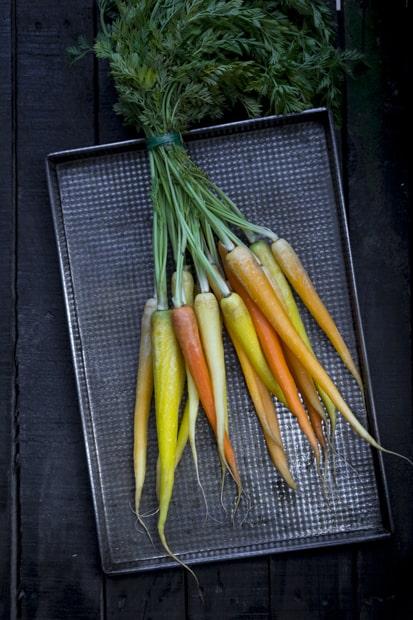 Porkkanat ja niiden naatit.