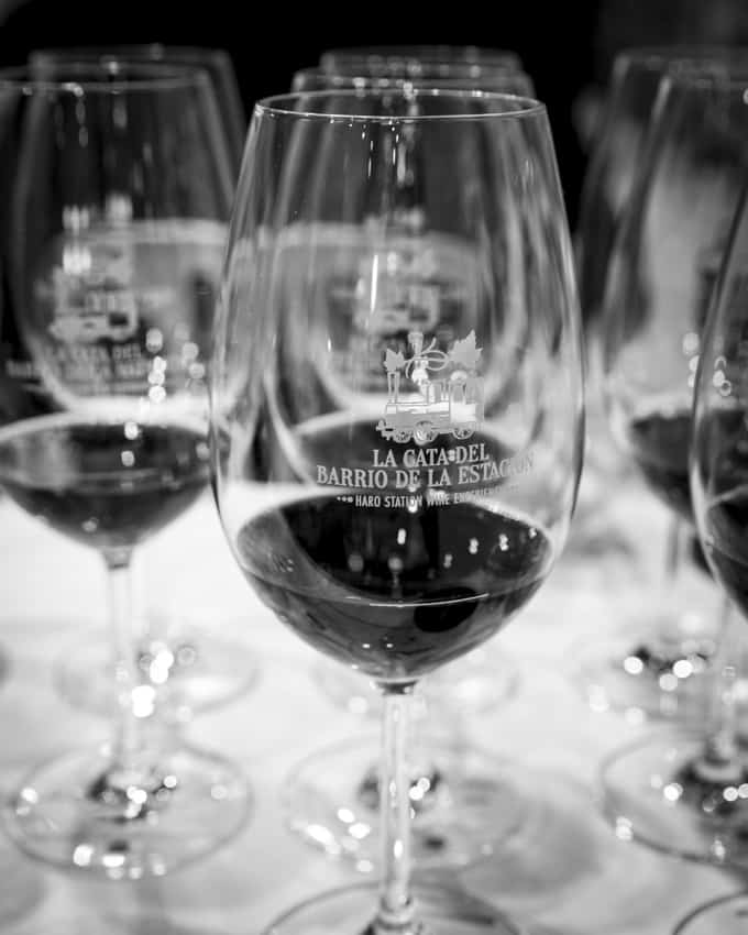 Haro station wine experience kokosi viininystävät Riojaan.