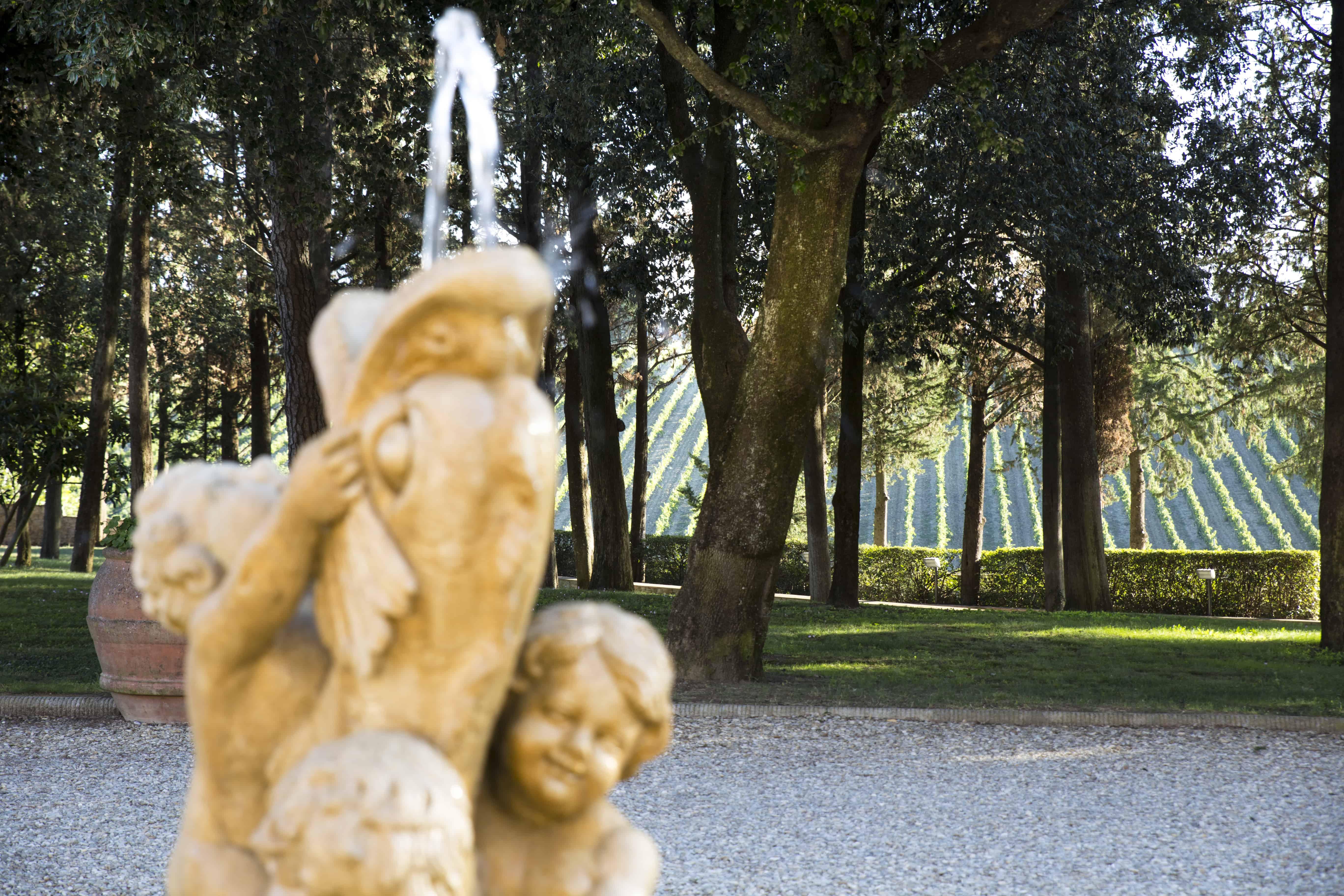 Toscanan aurinko paistaa.