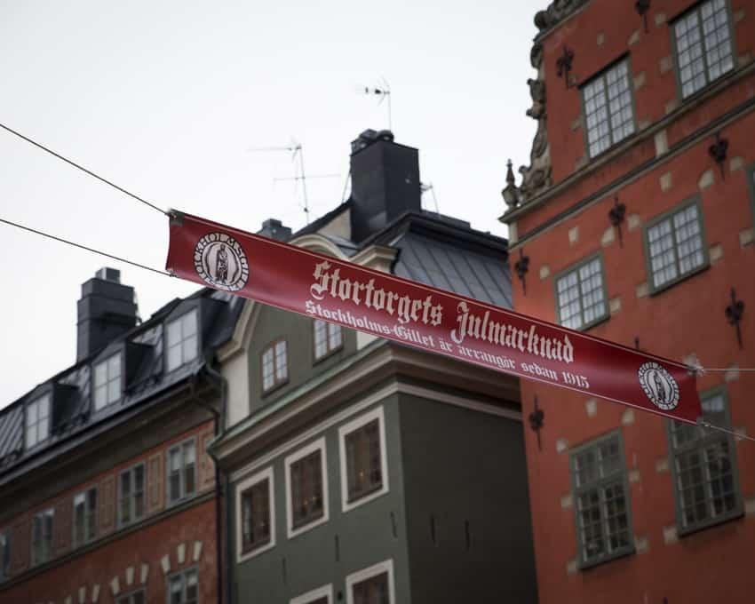 Stortorgetin joulumarkkinoilla tuli jouluisa olo.