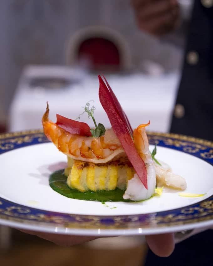 Vanitas-ravintolan tyylikkyyttä Palazzo Versacessa.