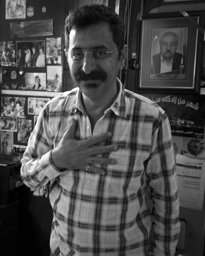 Yksi iranilaisen ravintolan eksentrisistä omistajista.
