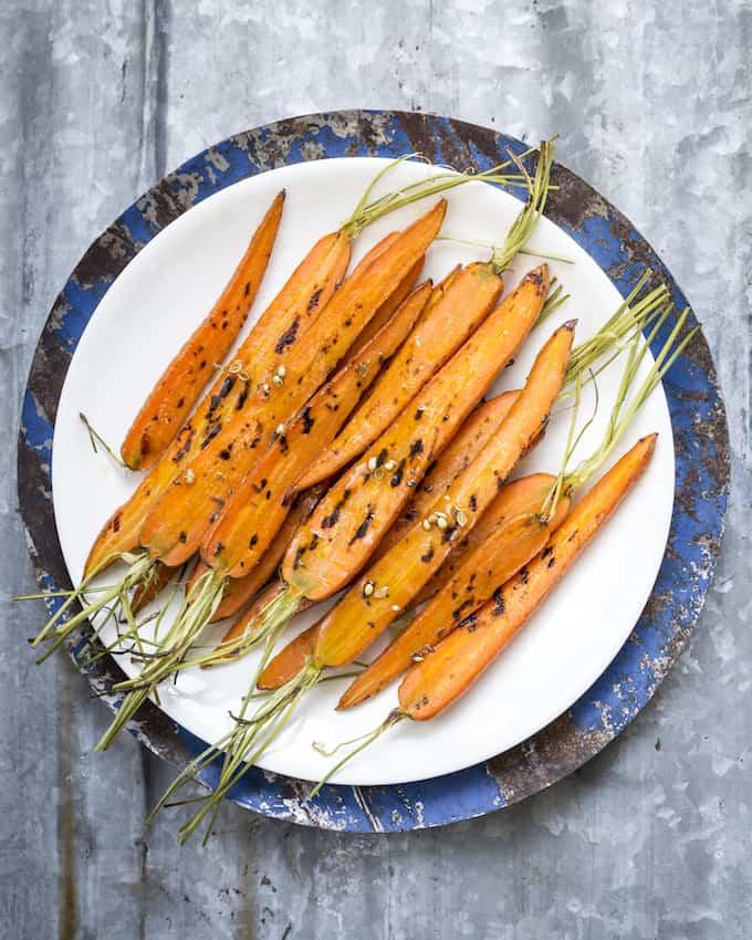 Mausteiset porkkanat Mari Moilanen