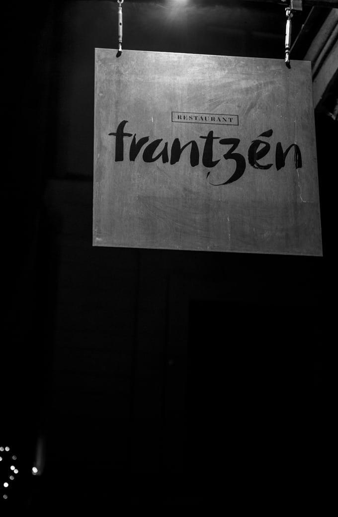 Ravintola Frantzen, Tukholma