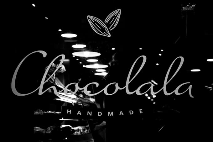 Suklaakonvehtien valmistaminen olikin helppoa.