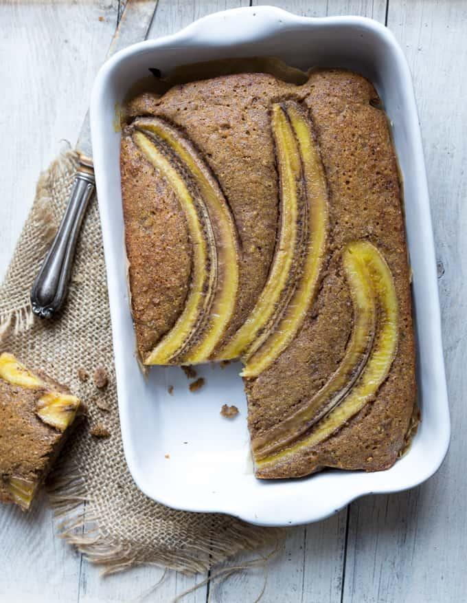 , gluteeniton banaanikakku, gluteeniton leivonta, hyvä gluteeniton kakku