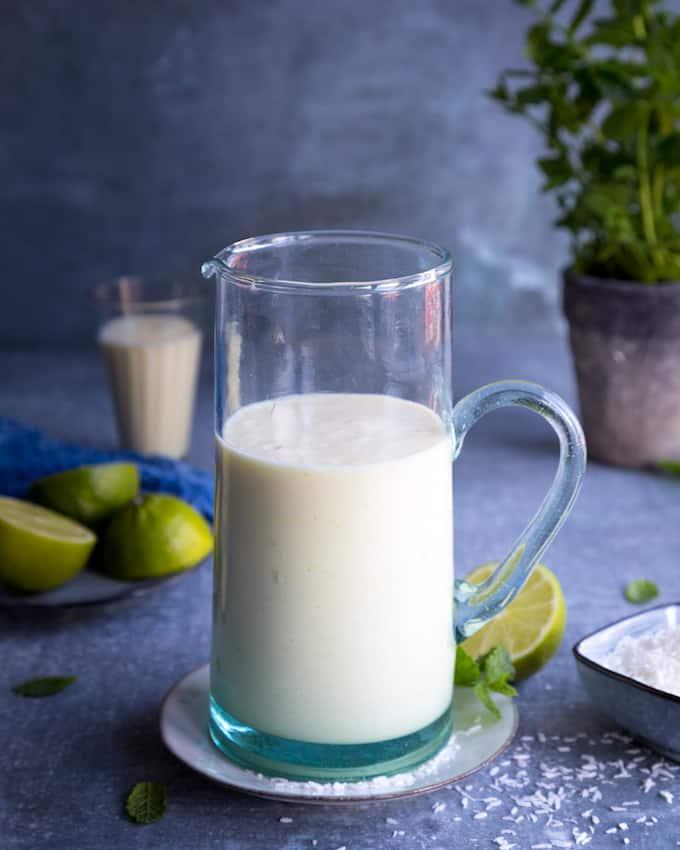 pina colada -smoothie, smoothieresepti, smoothiereseptejä, ananassmoothie