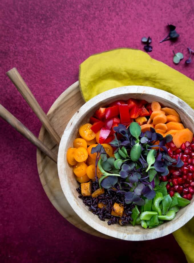 buddha bowl, kulhoruokaa, kulhoruokareseptejä, kasvisruokia, värikkäitä kasvisruokia, kasvisruokablogi, kasvisruoka, bataatti