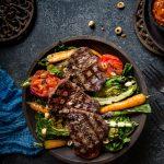 grillattu naudan sisäfilee, atrian lihakauppa, grillattu salaatti, lisuke grillipihville, grilliruoka, grillausreseptejä