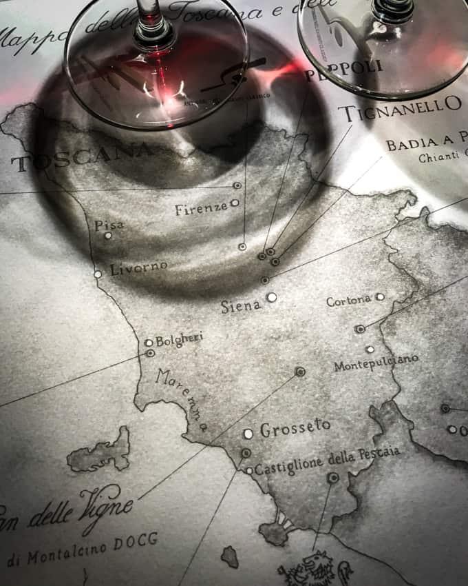 viinimatka toscanaan, antinorin viinitalo, missä syödä toscanassa, marchese antinori, antinorin viinit, tignanello, bramasole, soleia, toscana