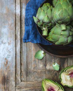 paahdetut artisokat, miten artisokka valmistetaan, artisokkareseptejä