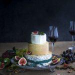 juustokakku kokonaisista juustoista, juustokakku, juustöpöytä, graham's late bottled vintage port