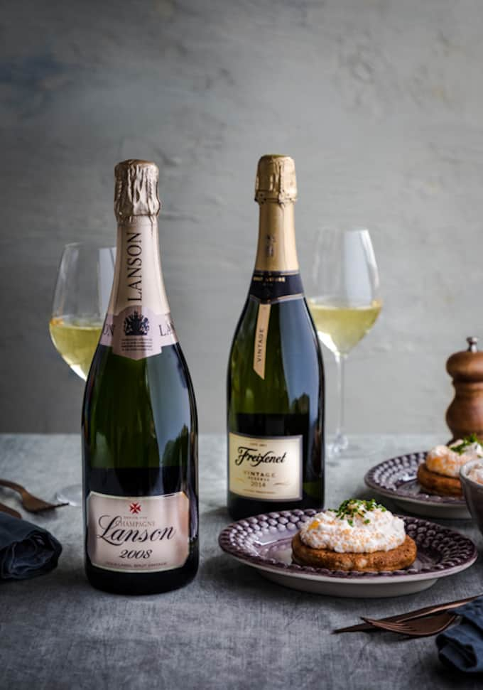 grand champagne, lanson