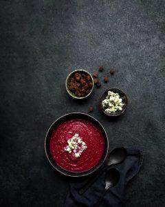 punajuurikeitto, keittoreseptejä, kasvisosekeitto, kasvisruokaa