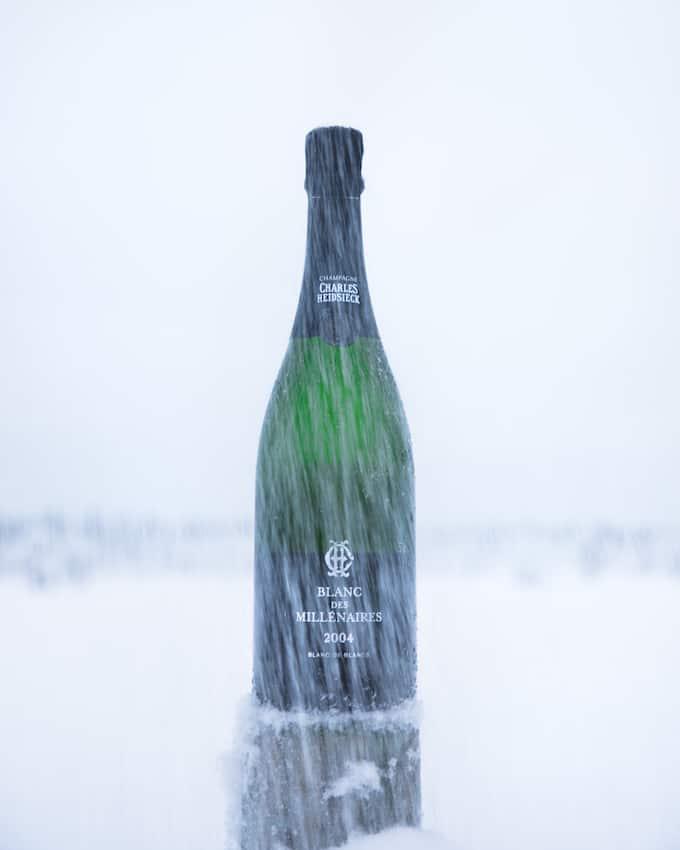 charles heidsieck, blanc des millénaires 2004, vintage samppanja,