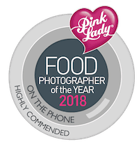 pink lady food photographer of the year 2018, pink lady