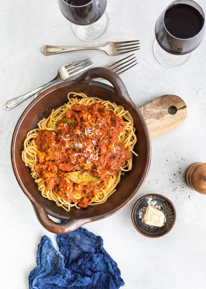 chorizopasta, ruffiano chianti, viini pastalle, pastaviini, ruffino