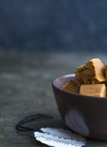 vaniljafudge, vaniljatoffee, joulukarkkireseptejä