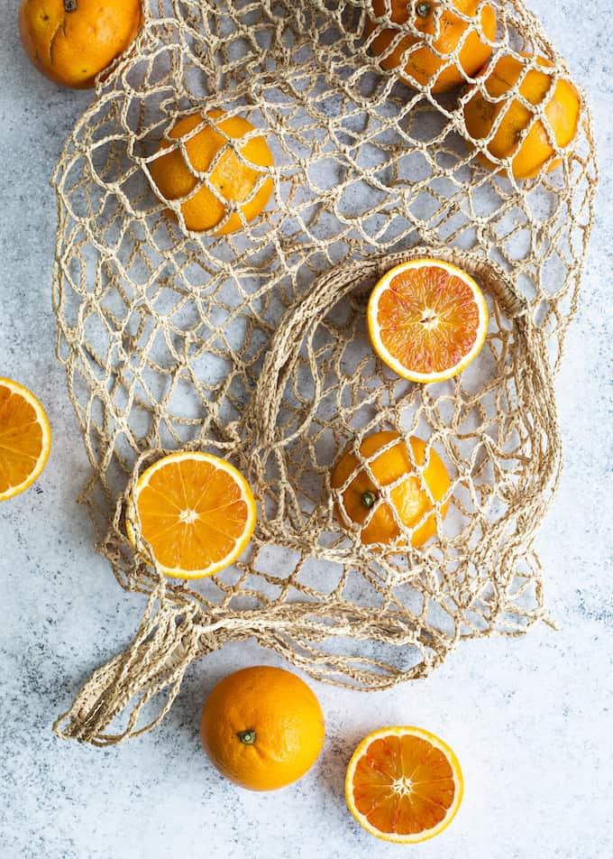veriappelsiinireseptejä, veriappelsiiniceviche