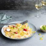 sitruunasashimi, pääsiäisen kalaruoka, sashimiresepti, sitruunalohi