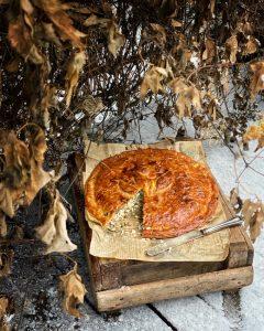 hirvipeltipiirakka, hirvenlihapiirakka, lihariisipiirakka hirven jauhelihasta