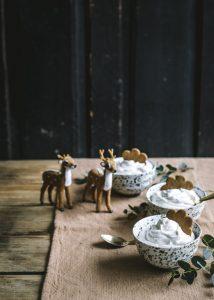 piparkakkurahkamousse, joulujälkkäri, piparijälkiruoka