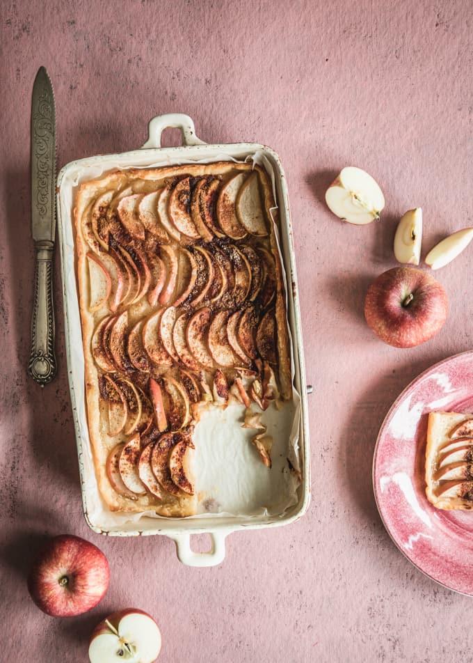 omenapiirakka, omenapiirakka rahka-voitaikinaan, maailman paras omenapiirakka