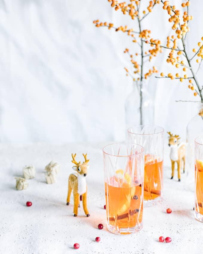 jouluaperol, aperolglögi, hapan glögi, uusi glögi, trendiglögi