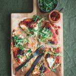 nduja-pizza, maailman paras pizzataikina, pizzataikinaresepti, liba-leipä. liba-pizza, nopea pizza, valmis pizzapohja