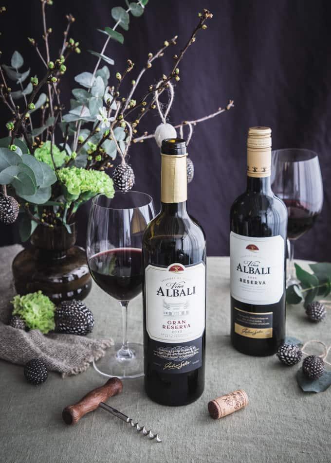 pääsiäisen punaviinit, pääsiäisviini, vina albali reserva, vina albali gran reserva, viini, punaviini pääsiäiseksi