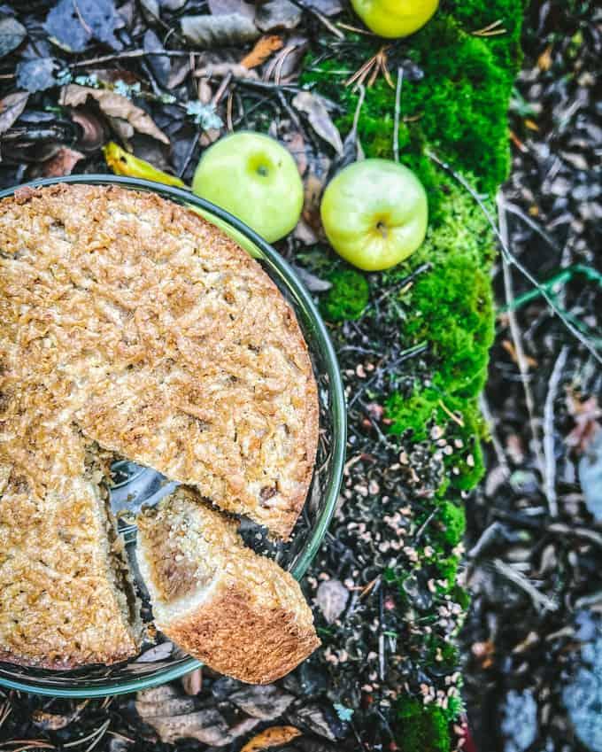 raastettu omenapiirakka, kannellinen omenapiirakka, omenapiirakkataikina, helppo omenapiirakka, paras omenapiirakka
